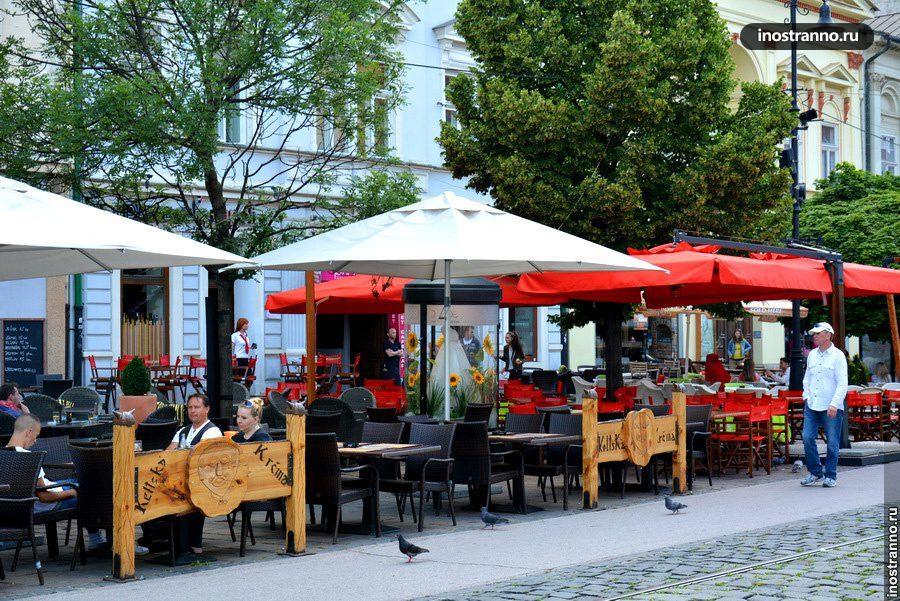 кафе в словакии
