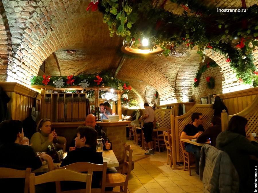 Лучший ресторан в Вене - Salm Bräu