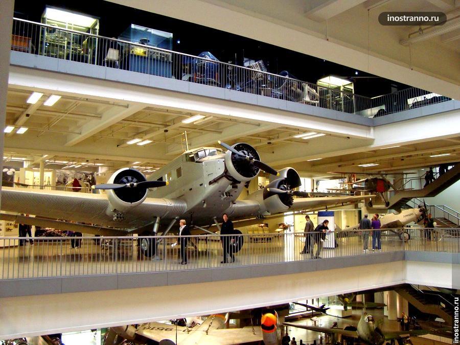 Немецкий технический музей в Мюнхене