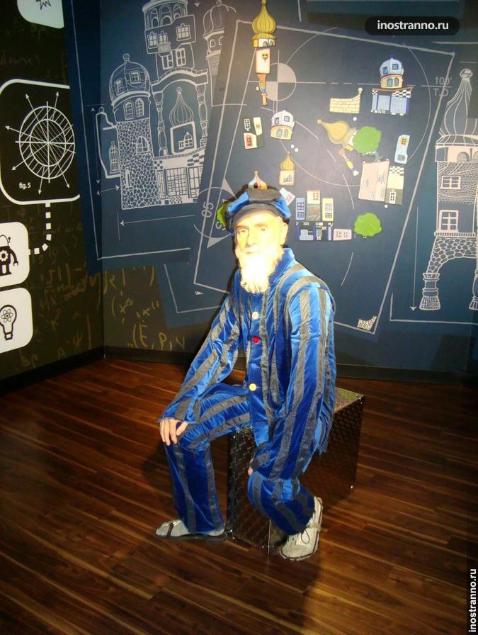 Хундертвассер в музее в Вене