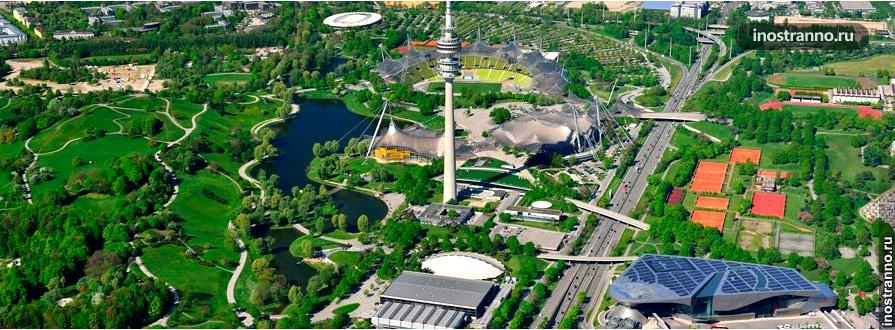 Олимпийский парк в Мюнхене