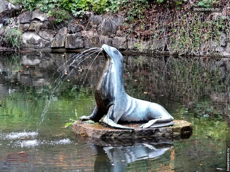 Фонтан – Тюлень в Праге