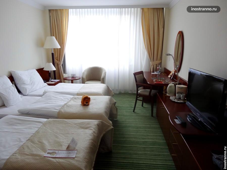 Номер отеля в Братиславе