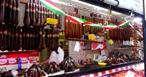 Колбасное царство — Рынок в Будапеште