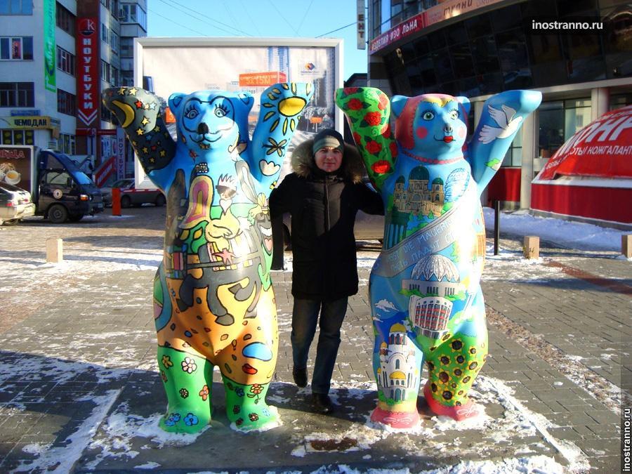 Немецкий мишка в Екатеринбурге