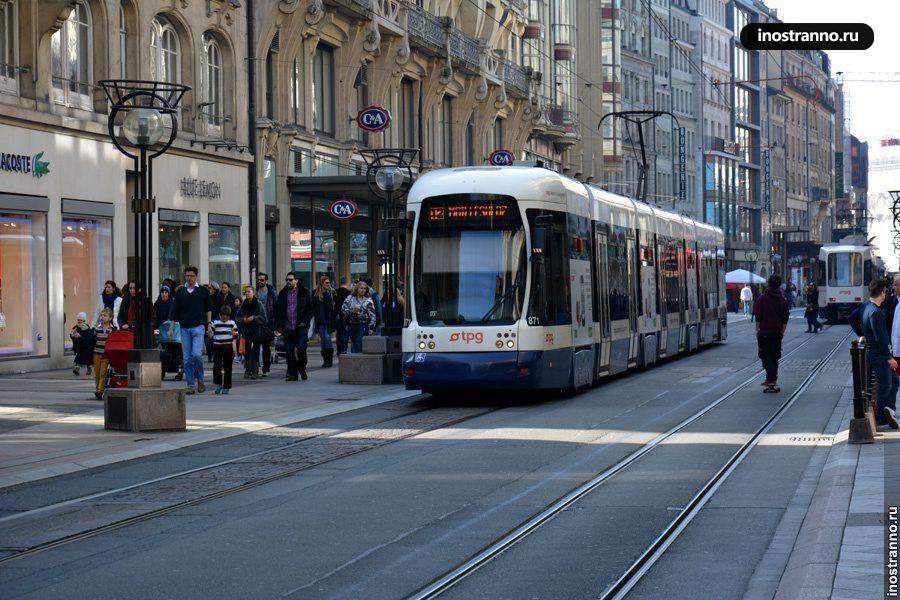 Трамвай Женевы