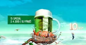 Время зеленого пива в Праге