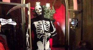 Экскурсия Мистическая Прага со скелетом