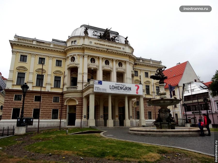 Театр в Братиславе