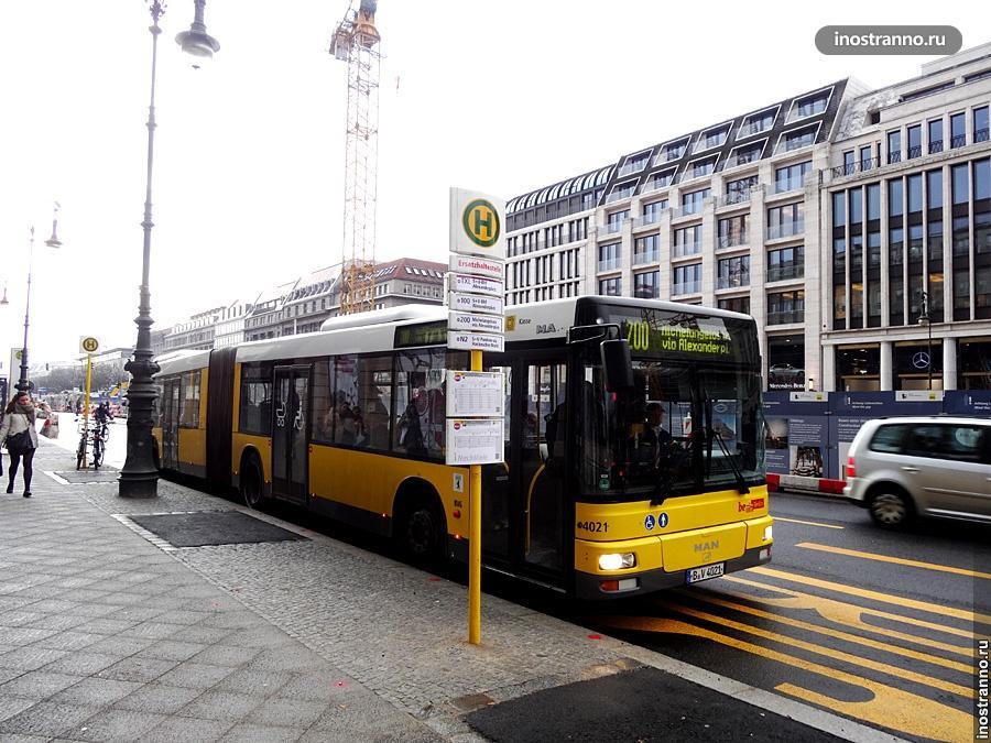 Автобус Берлина