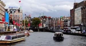 Маршрут прогулки по центру Амстердама