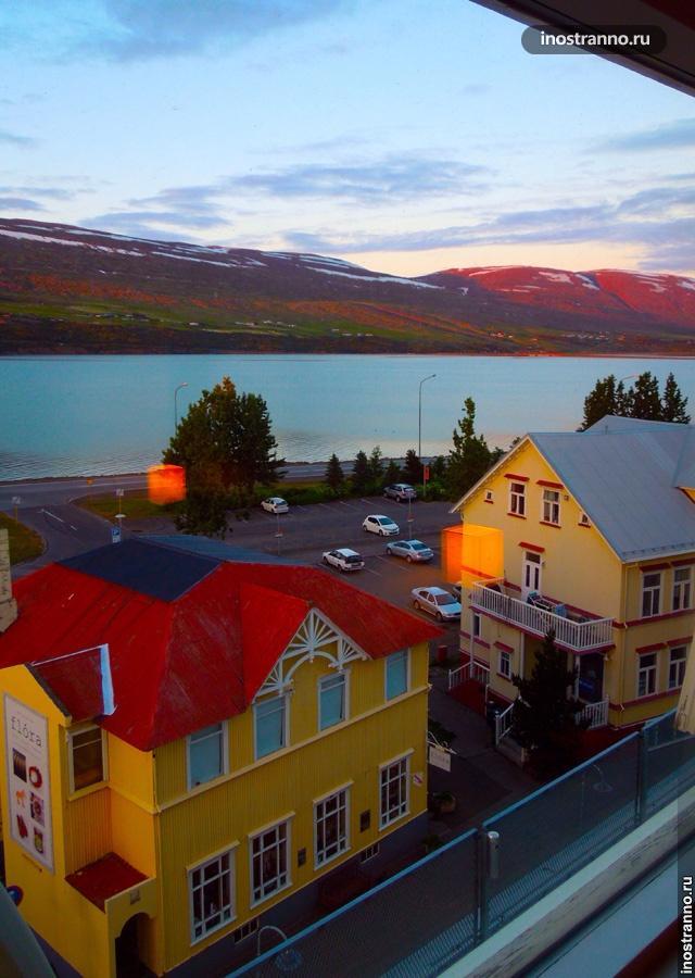 Природа северной Исландии