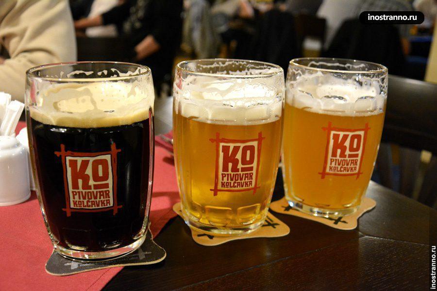 Пивная в Праге в районе Либень