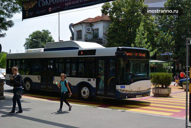 Общественный транспорт Бургаса, автобус