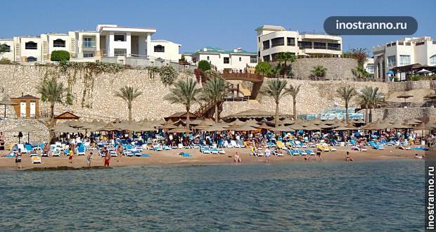 Популярный курорт Шарм-эль-Шейх