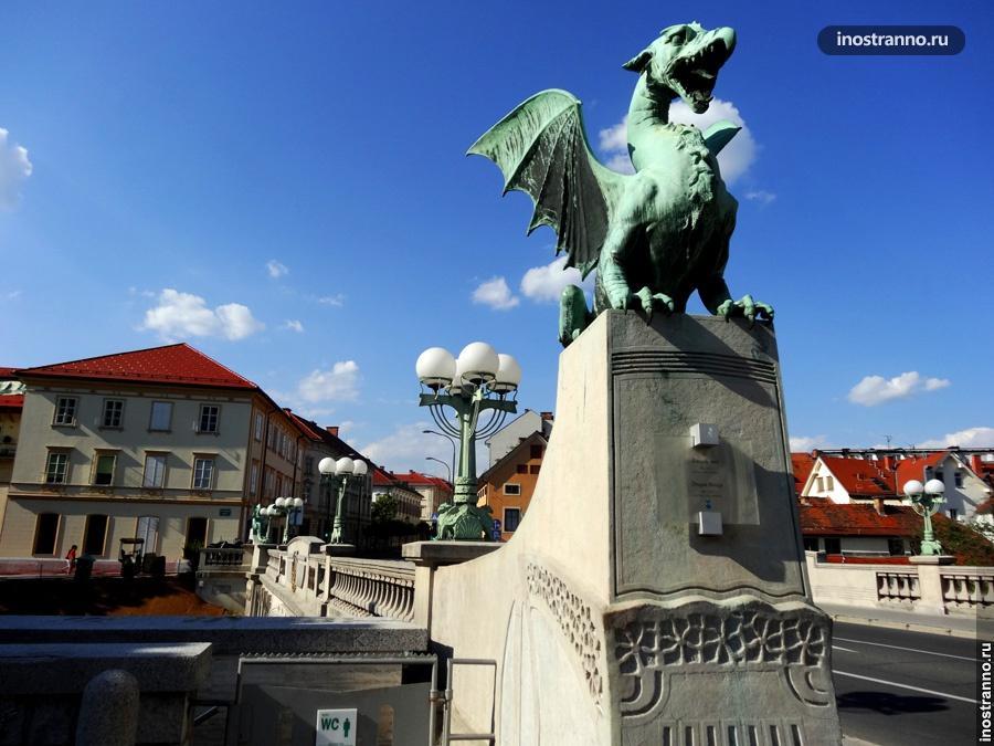 Мост дракона в Словении