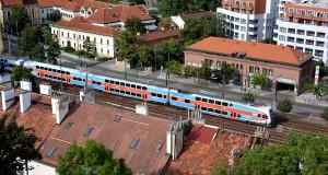 Вокзалы и электрички Праги