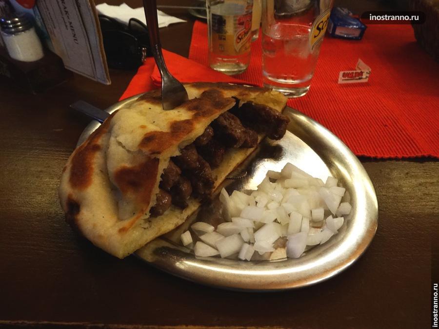 Словенское блюдо