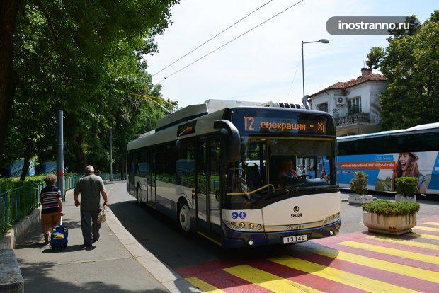 Троллейбусы Бургаса в Болгарии