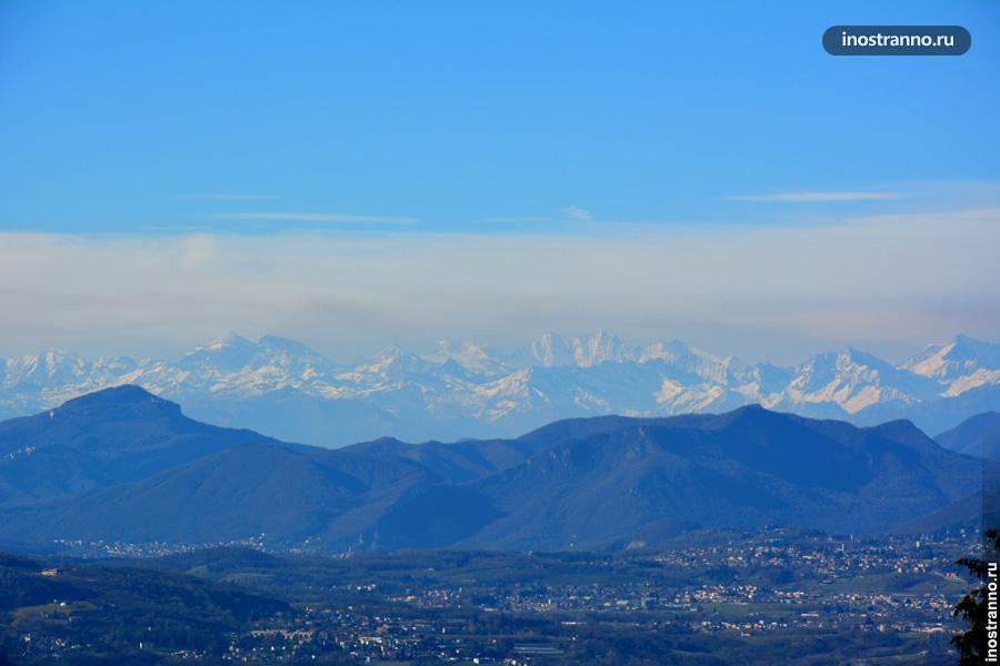 Панорама Альп