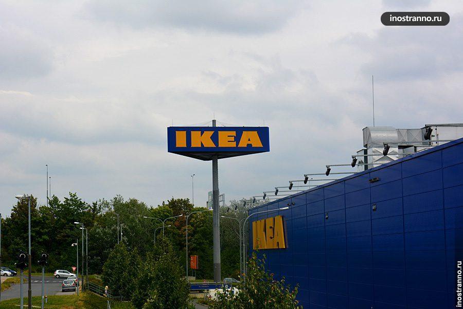 Магазин в Чехии
