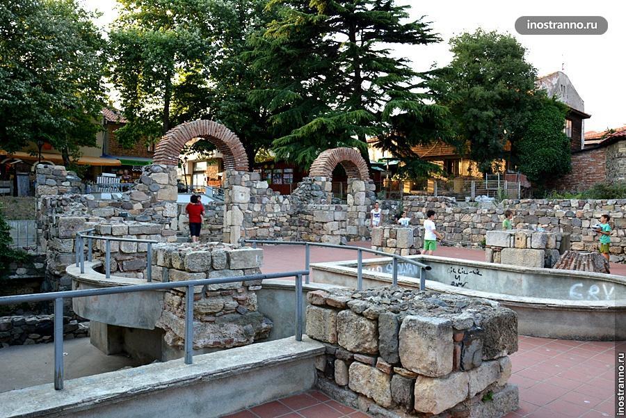 Древние руины в Созополе
