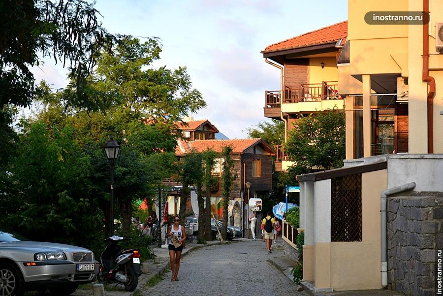Улица в Созополе