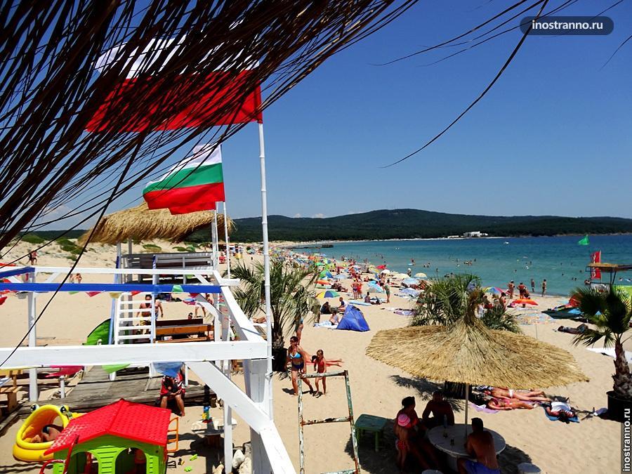 Пляж в Приморско