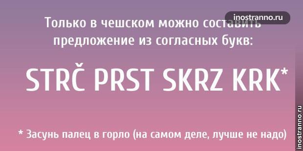 12 тонкостей чешского языка
