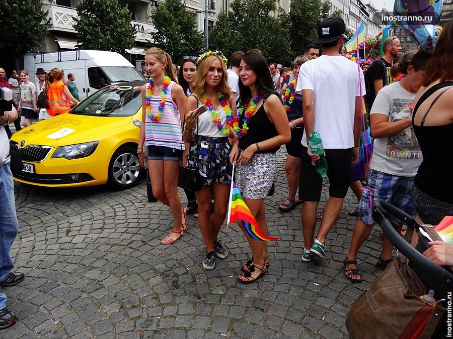 Гей-парад в Праге, Украинки