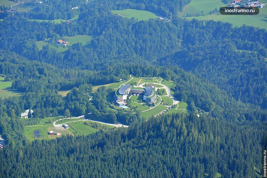 Отель в альпах Kempinski Hotel Berchtesgaden