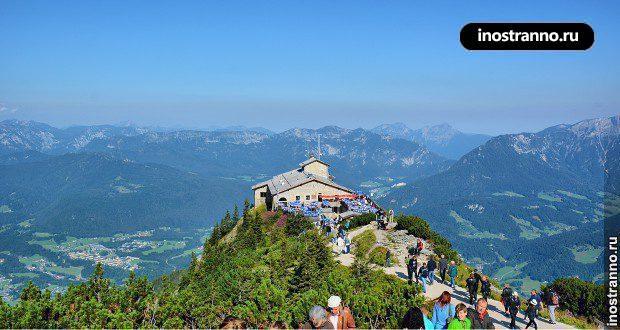 Чайный домик Гитлера в Альпах