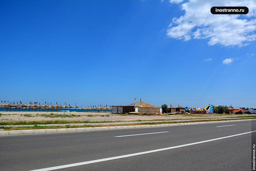 Пляж Мамая, Румыния