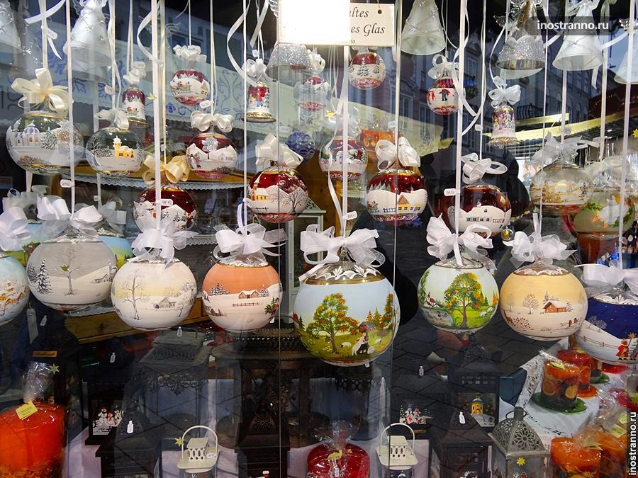 Рождественский рынок в Линце
