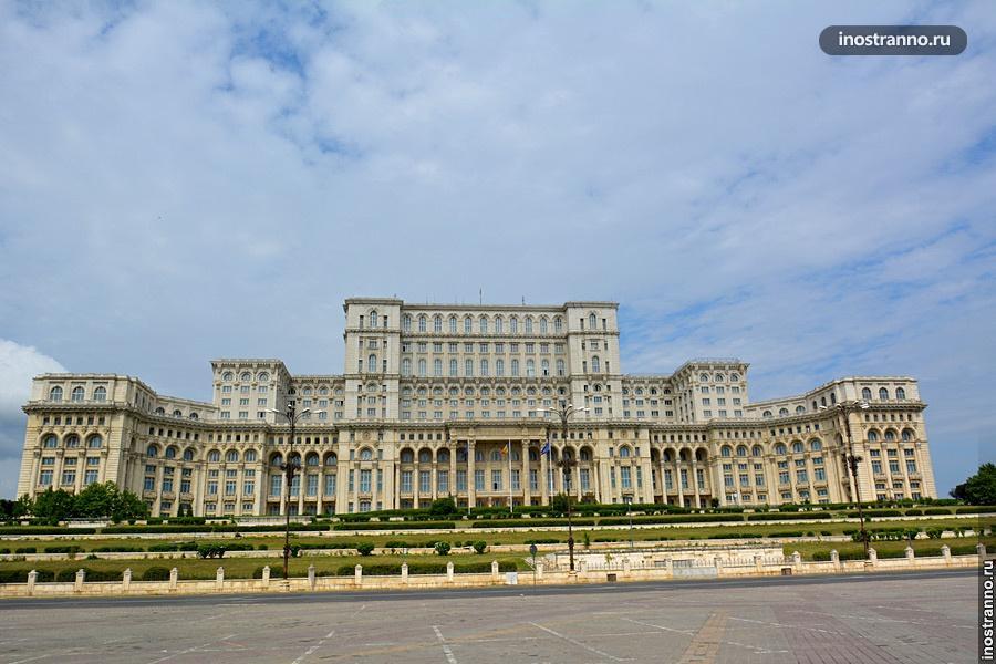 Здание Парламента Бухареста