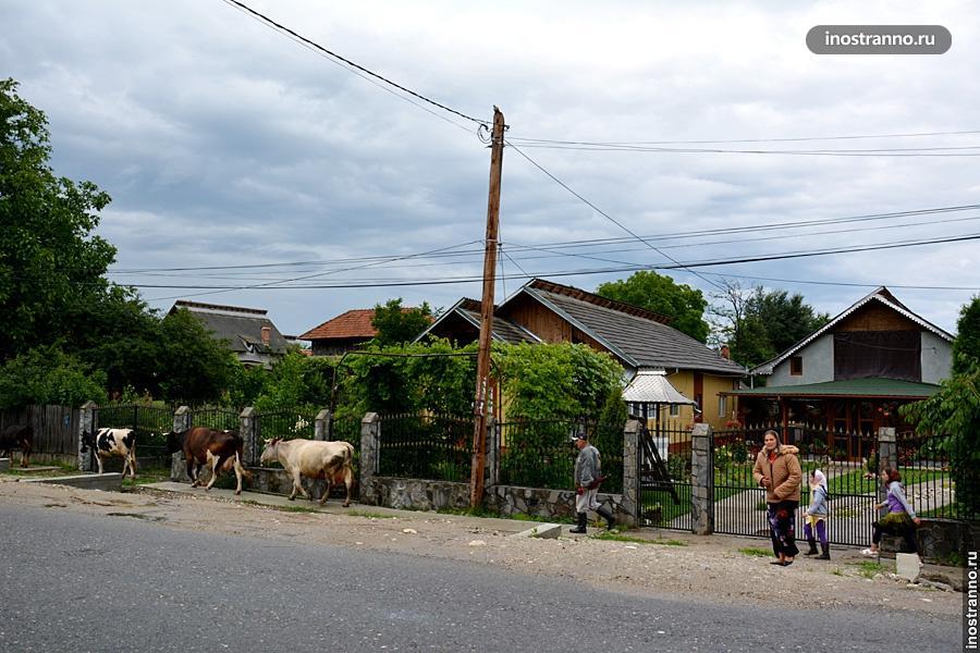 Румынская деревня