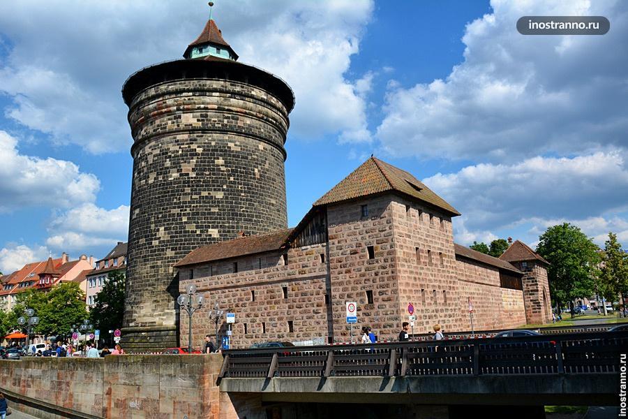Крепостная стена в Нюрнберге