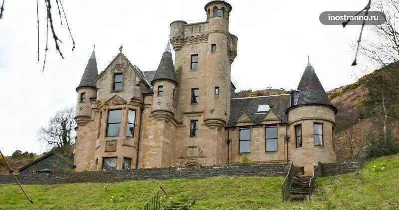 Замок в Англии Broomhall Castle