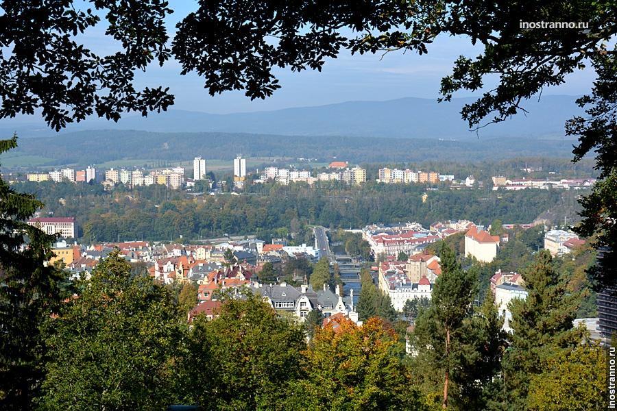 Красивый чешский пейзаж