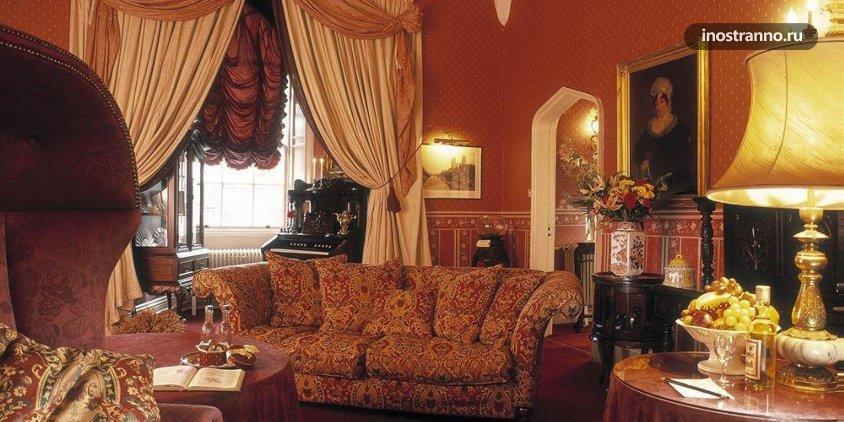 Отель в замке Lumley Castle Hotel