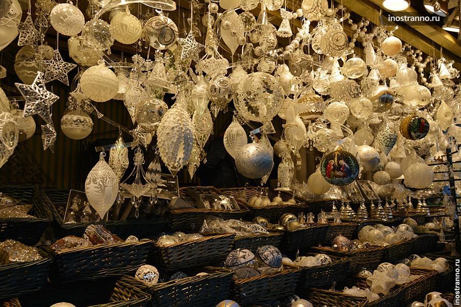 Рождественские игрушки в Вене