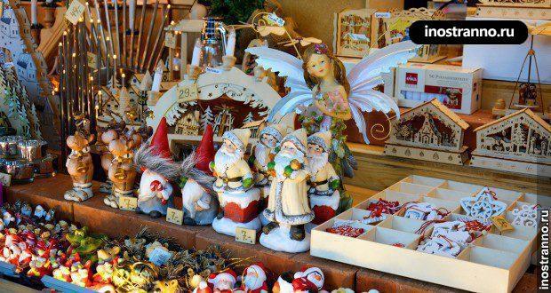 Рождественские рынки Вены