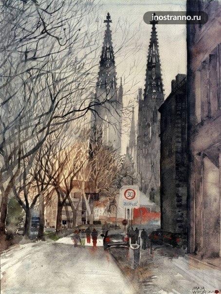Картина Прага, Вышеград