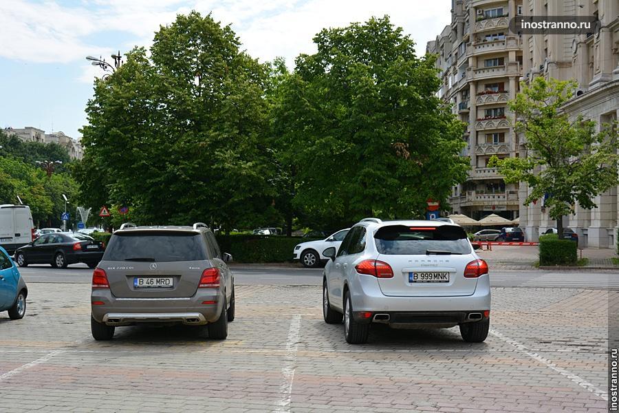 Автомобили в Бухаресте