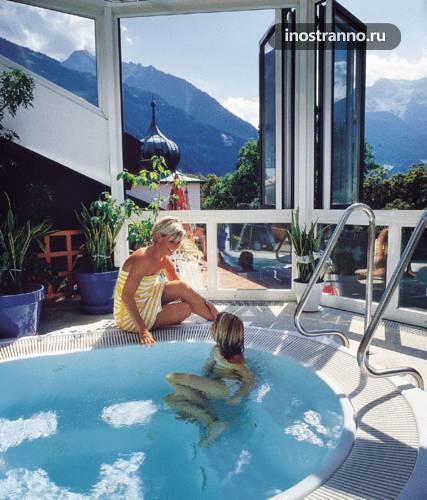 Отель на горнолыжном курорте Майрхофен Alpenhotel Kramerwirt