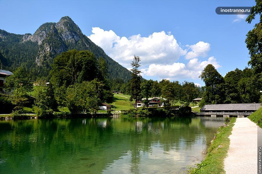 Кёнигсзее озеро в Германии