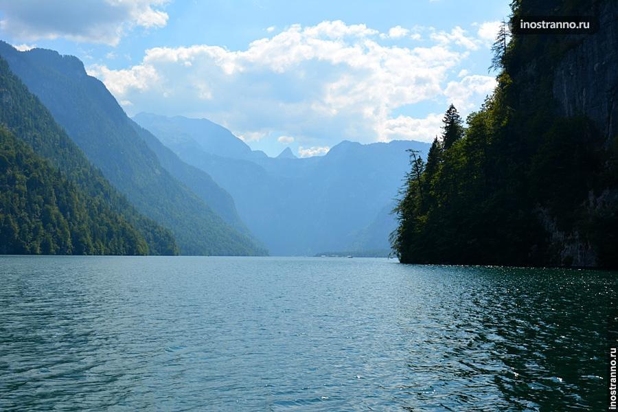 Кенигзее, самое красивое альпийское озеро
