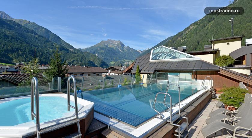 Отель с джакузи в Майрхофен, Австрия Sporthotel Manni