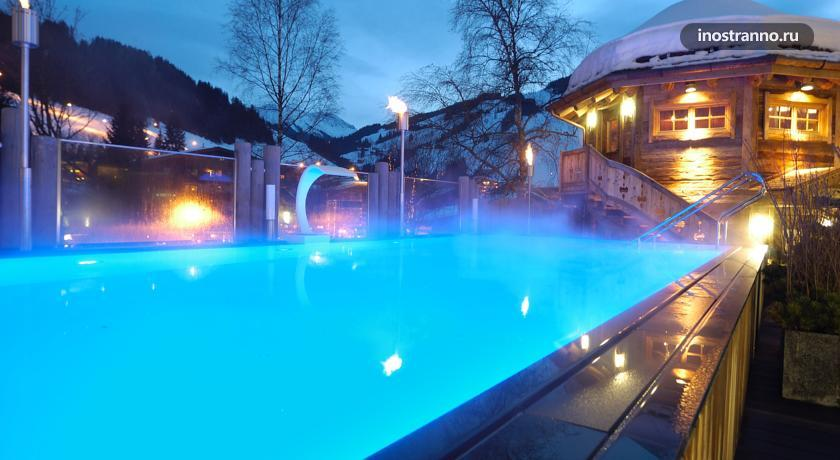 Отель Хинтерглемм, Австрия The Alpine Palace New Balance Luxus Resort