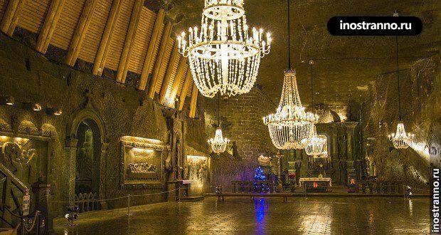 Главная достопримечательность Польши — соляные пещеры Величка